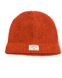 Lyst - Scotch   Soda Beanie In Monsanto Quality in Black for Men 7aff07e0b243