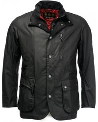 Barbour - Surge Mens Wax Jacket - Lyst