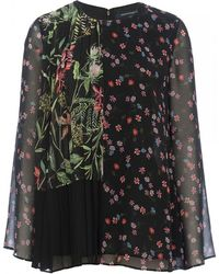 French Connection - Bluhm Botero Floral Top - Lyst