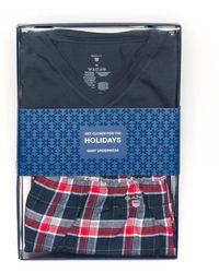 GANT - Tee Mens Pyjama Set Gift Box - Lyst