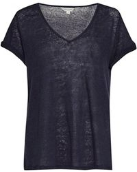 Great Plains - Lindy Linen V Neck Womens Tee - Lyst