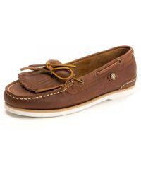 Barbour - Ellen Boat Womens Shoes - Lyst