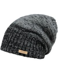 42519268 RVCA Washed Beanie in Black for Men - Lyst