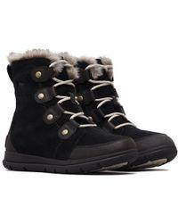 Sorel - Exploer Joan Waterproof Warm Winter Snow Boots - Lyst