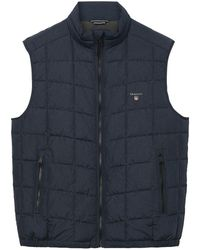 GANT - The Lightweight Cloud Mens Vest (aw17) - Lyst