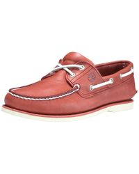 Timberland - Classic Boat 2 Eye Mens Shoe - Lyst