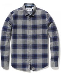 Original Penguin - Brushed Flannel Check Mens Shirt - Lyst