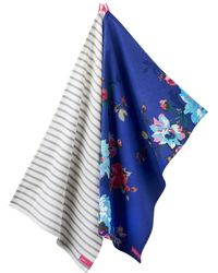 Joules - Thea Twin Pack Tea Towels (v) - Lyst
