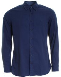 Hackett - Gmt Dyed Oxford Mens Shirt - Lyst