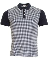 Original Penguin - Gingham Jacquard Front Mens Polo - Lyst