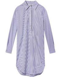 Maison Scotch - Loose Tunic Summer Womens Shirt Dress - Lyst
