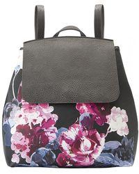 Joules - Trippaprt Rucksack Printed Pu Bag (z) - Lyst