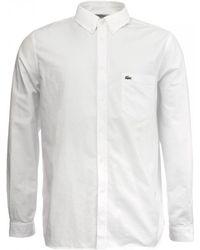 Lacoste - Mens Long Sleeve Shirt - Lyst