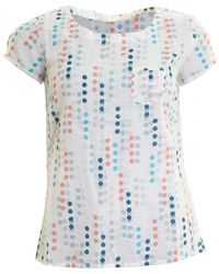 LILY & ME - Day Trip Spot Geo Womens Top - Lyst