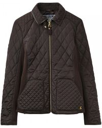 Joules - Marchesa Quilted Womens Coat (x) - Lyst