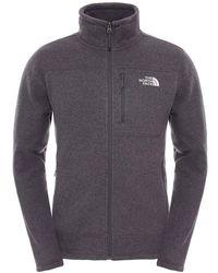 The North Face - Gordon Lyons Full Zip Mens Hooded Fleece - Lyst