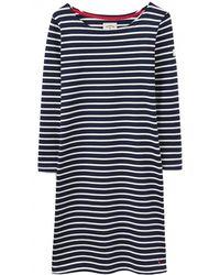 Joules - Riviera 3/4 Sleeve Womens Dress (x) - Lyst