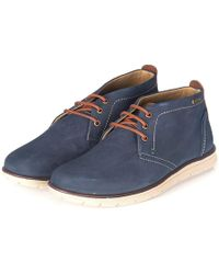 Barbour - Bowlam Lace-up Chukka Boots - Lyst