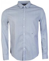 Replay - Small Geometric Print Mens Shirt - Lyst
