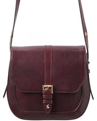 Joules - Saddle Womens Leather Bag S/s - Lyst