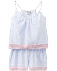 Joules - Lulu Womens Nightwear Set (y) - Lyst