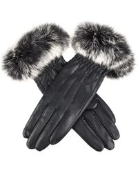 Dents - Vanessa Tipped Fur Ladies Glove - Lyst