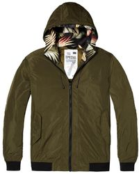 Scotch & Soda - Hooded Nylon Mens Jacket - Lyst