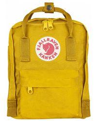 Fjallraven Kanken Classic Backpack - Yellow