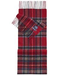 Joules - Tytherton Wool Checked Scarf (z) - Lyst