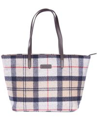 Barbour - Witford Tartan Womens Tote - Lyst