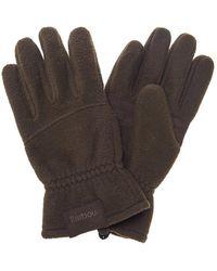 Barbour | Fleece Mens Country Glove | Lyst