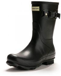 HUNTER - Norris Field Short Ladies Boot - Lyst