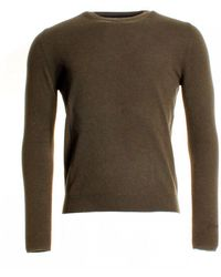 Woolrich - Superlong Mens Crew Neck - Lyst