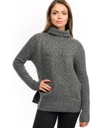 French Connection Ada Rsvp Ls Roll Womens Neck Jumper