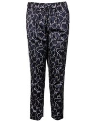 GANT - Ocean Safari Rope Printed Ladies Pants - Lyst