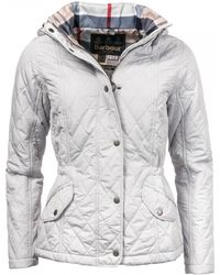Barbour - Millfire Quilted Womens Jacket - Lyst