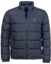fdbd327118c Men's GANT Jackets Online Sale - Lyst