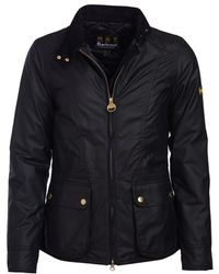 Barbour - Back Flag Wax Womens Jacket - Lyst