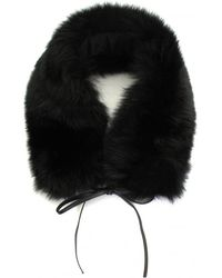 Woolrich - Fox Fur Ladies Ring Scarf - Lyst