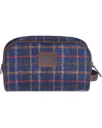 Barbour - Tweed Wash Bag - Lyst
