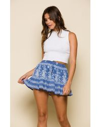 Raga - Nina Mini Skirt - Lyst