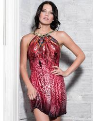 Baccio Couture | Eva - Silk Short Dress | Lyst