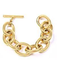 Ben-Amun - Metal Chain Link Bracelet - Lyst