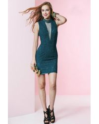 Alyce Paris - Homecoming - Dress In Blue Coral - Lyst
