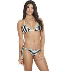 AlmaMia Swimwear - Salina Triangle Top T - Lyst