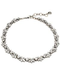 Ben-Amun - Simple Crystal Necklace - Lyst