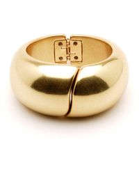 Ben-Amun - Gold Hinge Cuff - Lyst