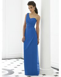After Six - Dress In Lapis - Lyst