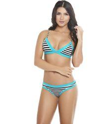 AlmaMia Swimwear - Salina Halter Top T - Lyst