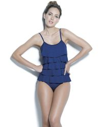 Estivo Swimwear - Removable Cups Ruffled One Piece /sld/ - Lyst